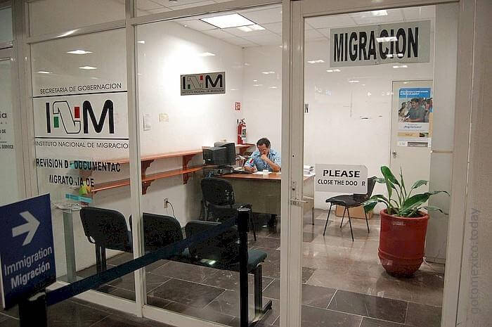 INM office in Cancun airport